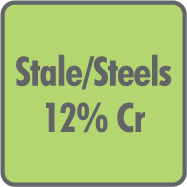 Stale 12% Cr